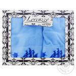 Lorenzzo Veliero Terry Towel 70х140/50х90/30х50cm 3pcs