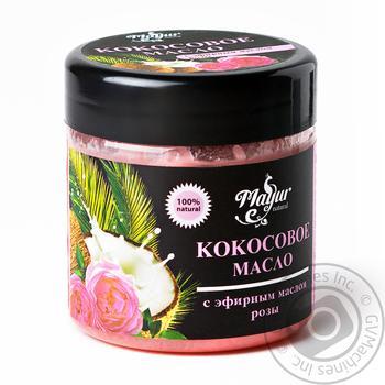 Олія кокосова Mayur з ефірною олією троянди 140мл - купити, ціни на Ашан - фото 2