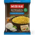 Вермишель Мивина быстрого приготовления со вкусом сыра и зелени 60г