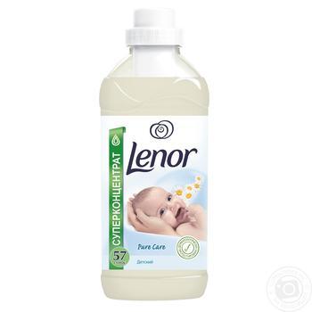 Кондиционер для белья Lenor для чувствительной и детской кожи 2л