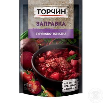 Заправка Торчин свекольно-томатная для первых и вторых блюд 240г