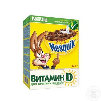 Готовый завтрак Нестле Несквик шоколадные шарики 375г