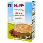 Hipp porridge milk buckwheat with prebiotics for children from 4 months 250g
