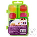 Фарби ZiBi акварельні 8 кольорів