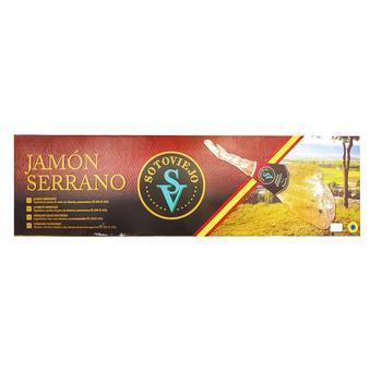Хамон Pont Serrano с костью в подарочной упаковке 7кг