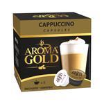 Кофе Aroma Gold Cappuccino молотый в капсулах для кофемашин 193,6г
