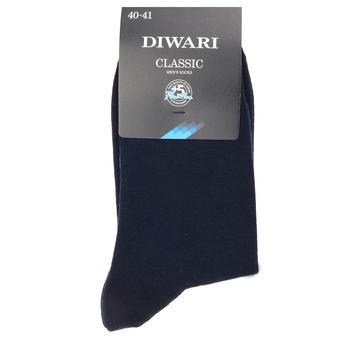 Носки мужские Diwari Classic р.27 000 темно-синий 5С-08СП - купить, цены на СитиМаркет - фото 3