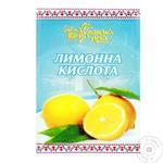 Ukrainska Zirka Lemon Acid 25g