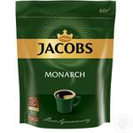 Кофе Jacobs Monarch растворимый сублимированный 60г