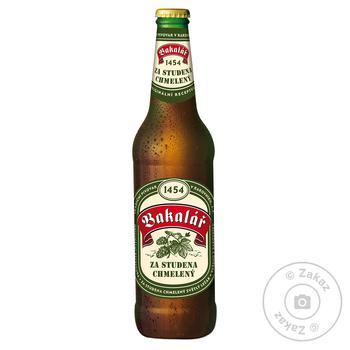 Пиво Bakalar Dry Hopped Lager светлое фильтрованное 5,2% 0,5л