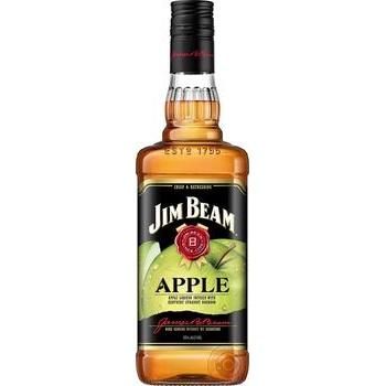 Jim Beam Apple Whiskey 35% 1l - buy, prices for Novus - image 1