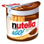 Горіхова паста Nutella з какао та Хлібні палички (Nutella&Go) 52г