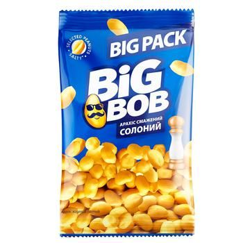 Big Bob Roasted Salted Peanuts 120g - buy, prices for CityMarket - photo 1