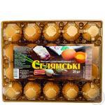 Яйця курячі Ясенсвіт Селянські С1 20шт