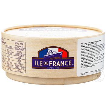 Ile de France petit soft cheese brie 50% 125g - buy, prices for Furshet - image 1