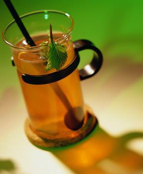 Имбирный горячий напиток