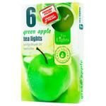 Admit Green Apple Candle 6pcs