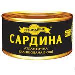 Сардина Fishmarine бланшована в олії 240г