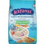 Каша мультизлаковая Карапуз 8 злаков с витаминами и пребиотиками 200г