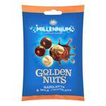 Millennium Golden Nuts Milk Chocolate Hazelnuts 100g