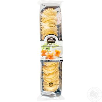 Равиоли Kulinarium Meister с лососем рикоттой и шпинатом 250г - купить, цены на Ашан - фото 1