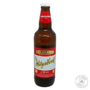 Пиво Уманьпиво Жигулівське світле 4,2% 0,5л - купити, ціни на Фуршет - фото 2