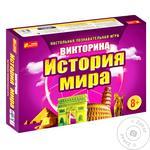 Игра настольная Ranok-Creative Викторина История мира