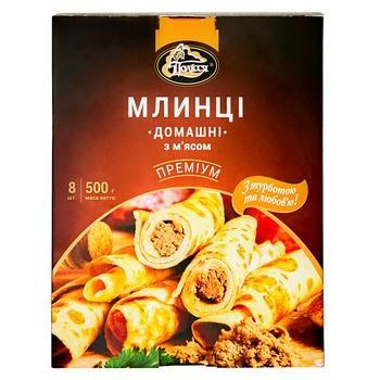 Млинці Полісся Домашні з мясом 500г - купити, ціни на CітіМаркет - фото 3
