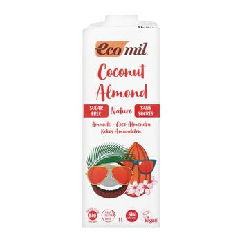 Eco Mil sugar free almond milk 1l - buy, prices for Auchan - photo 1