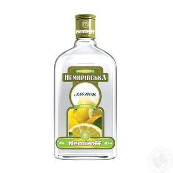 Nemiroff Nemyrivska Lemon Tincture 38% 0.5l - buy, prices for Novus - image 1