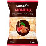 Smacom with chocolate and cherry precooked pancakes 350g