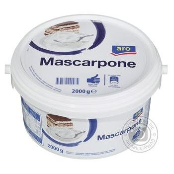 Сыр Aro Маскарпоне 2кг
