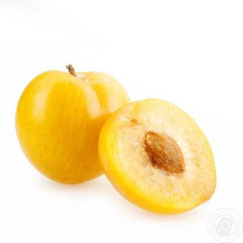 Фрукт слива желтая свежая