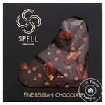 Шоколад темний Spell з шоколадною карамеллю 100г