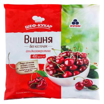 Pitted cherry Rud frozen 400g - buy, prices for Auchan - photo 1