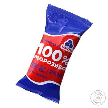 Rud Ice-cream 100% 70g