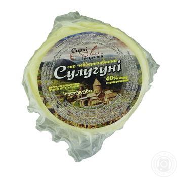 Скидка на Сыр Сырные рецепты Сулугуни 40%