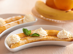 Банани з ванільним кремом