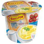 Пюре Роллтон картофельное со вкусом сливок 37г