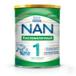 Dry sour milk formula Nestle Nan 2 for babies from birth 400g
