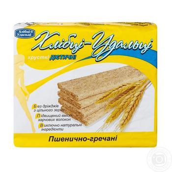 Хлебцы Хлебцы-Удальцы пшенично-гречневые диетические 100г