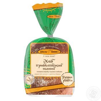 Хлеб Киевхлеб Прибалтийский темный половина нарезка 400г - купить, цены на Ашан - фото 3