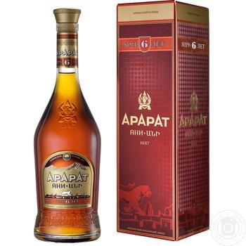 Ararat Ani 6 Yrs Cognac 40% 0.7l - buy, prices for Novus - image 3