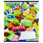 1 Veresnya Ninja Turtle Lined Notebook 12 sheets in Assortment