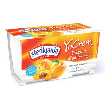 Sterilgarda yogurt Cream with apricot 2pcs*100g
