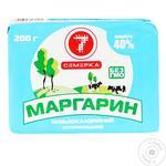 Маргарин Семерка 40% 200 г фольга