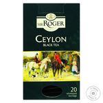 Чай Sir Roger Цейлон черный 2г*20шт