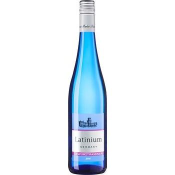 Вино Latinium Гевюрцтраминер белое полусладкое 0,75л - купить, цены на Novus - фото 1