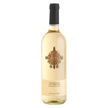 Вино Le Altane Trebbiano белое сухое 750мл - купить, цены на Фуршет - фото 1