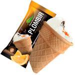 Oliver Smith Plombir Ice Cream with Chocolate-Orange Filling 100g